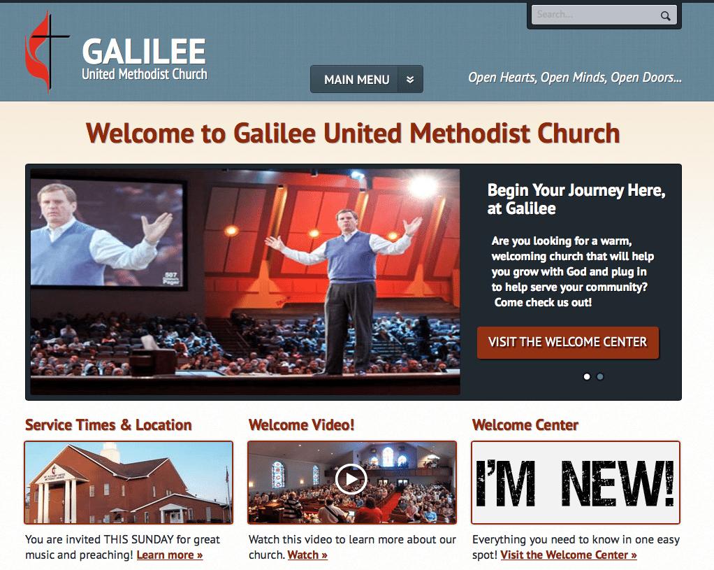 ChurchBuzz Church Website Templates Have Arrived