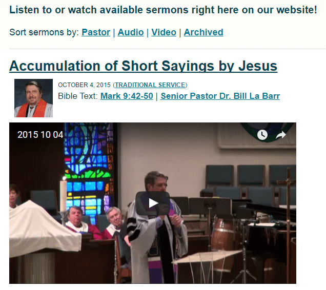 Sermon Manager Featured Image