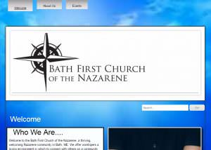 Bath FIrst Church of the Nazarene Header