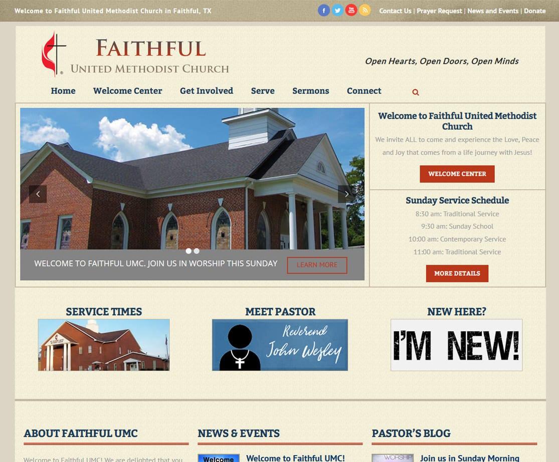 Church Website Templates ChurchBuzz Church Websites - Church web templates
