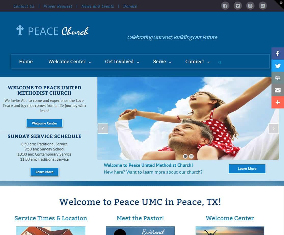 Church Website Templates Churchbuzz Church Websites